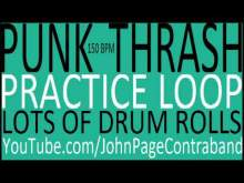Embedded thumbnail for Punk Thrash Practice Drum Loop Heavy on the Fills D Beat