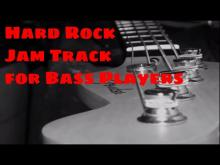 Embedded thumbnail for Groovy Hard Rock Jam Track e minor (no bass)