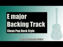 Embedded thumbnail for Backing Track in E Major Pop Rock with Chords and E Major Pentatonic Scale