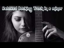 Embedded thumbnail for Relaxed Electric Guitar Backing Track in e minor