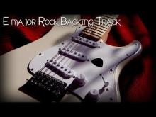 Embedded thumbnail for Instrumental Rock Guitar Backing Track E major