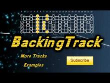Embedded thumbnail for Guitar Backing track [A Minor] with scale chart