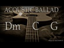 Embedded thumbnail for Emotional Acoustic Guitar Ballad Backing Track