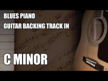 Embedded thumbnail for Blues Piano Guitar Backing Track In C Minor