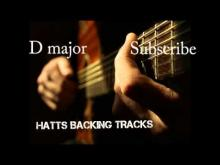 Embedded thumbnail for D major Smooth Groove Backing Track 110bpm