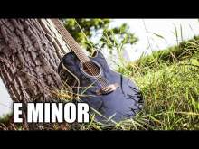 Embedded thumbnail for E Minor Acoustic Blues Backing Track