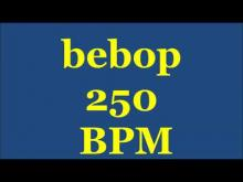 Embedded thumbnail for Drum Loops for Practice Bebop 250bpm