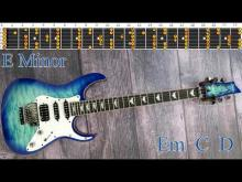 Embedded thumbnail for Emotional Ballad Style Guitar Backing Track - E Minor Scale  | 72bpm [NCTracks Release]