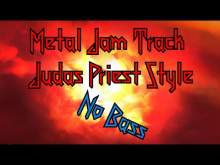Embedded thumbnail for Metal jam track  Judas Priest style - no bass