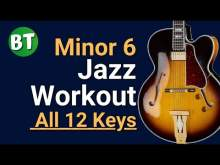 Embedded thumbnail for Minor 6 Chords Swing Jazz Backing Track (IN ALL 12 KEYS) - 120bpm   (Using the circle of fourths)