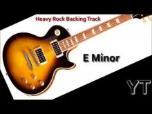 Embedded thumbnail for Heavy Rock Backing Track E Minor
