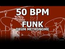 Embedded thumbnail for Funk | Drum Metronome Loop | 50 BPM