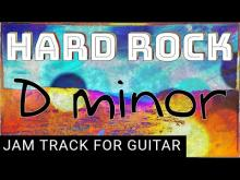 Embedded thumbnail for Rock Backing Track for Guitar in D Minor (Dm)