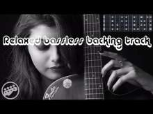 Embedded thumbnail for Relaxed bassless backing track e minor