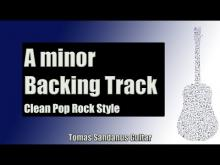 Embedded thumbnail for Backing Track in A Minor Pop Rock with Chords and A Minor Pentatonic Scale