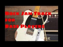 Embedded thumbnail for Rock Jam Track in a-minor / e-minor Rolling Stones Style no bass