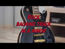 Embedded thumbnail for Rock jam track in a minor