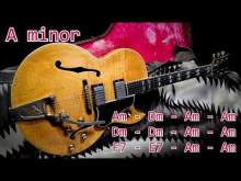 Embedded thumbnail for Minor Blues Style Guitar Backing Track - A minor | 115 bpm
