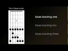 Embedded thumbnail for Blues improvisation backing tracks - the basic generic blues backing to improvise to