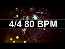 Embedded thumbnail for Drums Metronome 80 BPM