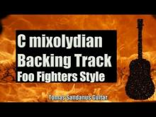 Embedded thumbnail for Learn To Fly Style Backing Track in C mixolydian - Foo Fighters Alternative Rock Guitar Backtrack