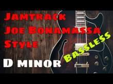 Embedded thumbnail for Epic blues rock jamtrack - Joe Bonamassa Style - bassless