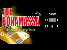 Embedded thumbnail for Rock Blues Joe Bonamassa Style #2 Guitar Backing Track Bpm 93 Highest Quality