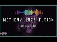 Embedded thumbnail for Metheny Blues Jazz Fusion Backing Track in F Dorian