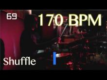 Embedded thumbnail for 170 BPM Shuffle Beat - Drum Track