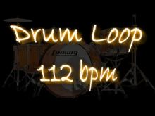 Embedded thumbnail for Groovy Drum Loop 112 bpm