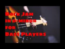 Embedded thumbnail for Rock Jam Track in D Minor ( Van Halen Style ) no Bass