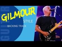 Embedded thumbnail for GILMOUR style Ballad Guitar Backing Track jam in A (AV38)