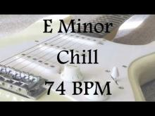 Embedded thumbnail for E Minor Chill - Lead Guitar Jam Track
