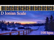 Embedded thumbnail for Last Christmas Wham! Style Guitar Backing Track - D Ionian Scale