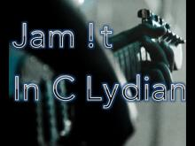 Embedded thumbnail for C Lydian Backing Track