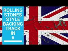 Embedded thumbnail for Rolling Stones Style Blues Backing Track in A