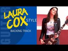 Embedded thumbnail for LAURA COX Style Rock Blues BackingTrack for Guitar Jam
