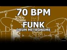 Embedded thumbnail for Funk | Drum Metronome Loop | 70 BPM