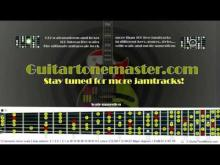 Embedded thumbnail for jamtrack C minor - harmonic minor scale - Walking around