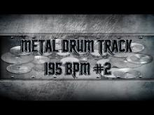 Embedded thumbnail for Thrash Metal Drum Track 195 BPM | Remix (HQ,HD)