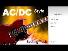 Embedded thumbnail for AC DC Style Rock BackingTrack