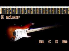 Embedded thumbnail for Amazing Epic Cliffhanger Ballad Guitar Backing Track - E minor