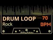Embedded thumbnail for SLOW ROCK - DRUM LOOP 70 BPM (Backing Track Bateria)