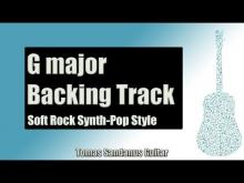 Embedded thumbnail for Backing Track in G Major Pop Rock with Piano with Chords and E minor Pentatonic Scale