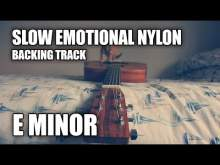 Embedded thumbnail for Slow Emotional Nylon String Acoustic Instrumental In E Minor