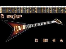 Embedded thumbnail for Positive Rock Ballad Guitar Backing Track - D major   90bpm