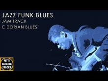 Embedded thumbnail for Upshot Jazz Funk Blues Backing Track in C Dorian Blues