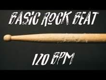 Embedded thumbnail for Basic rock beat free 120 bpm