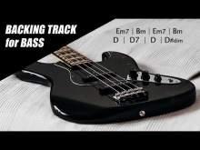 Embedded thumbnail for Bass Backing Track Funk Rock E Dorian B Minor