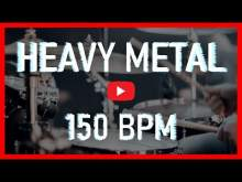 Embedded thumbnail for Heavy Metal Drum Track 150 BPM Metal Drum Beat Backing Track (Track ID-48)